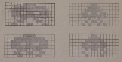 boceto Space Invaders